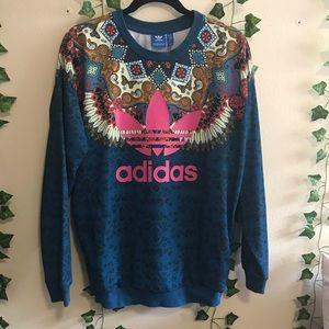 Adidas Women's Boho Mandela Sweatshirt